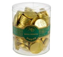 Монеты 6г*120шт.НОВОГОДНИЕ  МД