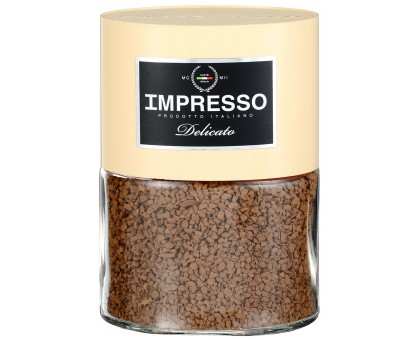 Импрессо Деликато Стекло 100г*6шт кофе