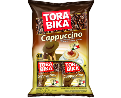 Капучино Тора Бика 25г*20шт*12