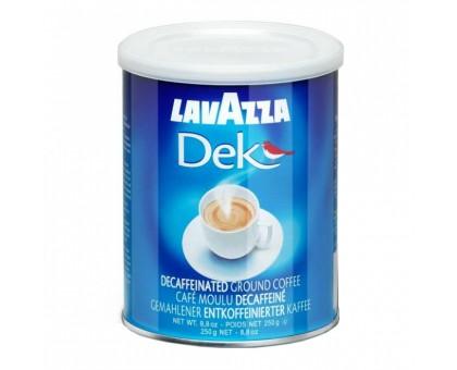 Лавацца 250г*12шт Ж/Б Без кофеина   Молотый
