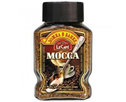 Ле Кафе Мокка Стекло 95г*12шт кофе