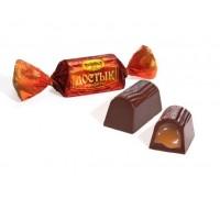 Конф. Достык шоколадные 1кг*5пак Рахат.