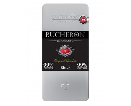 Бушерон ЖБ 100гр*10шт Горький 100% шоколад