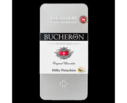 Бушерон Ж/Б 100г*10шт Молочный с фисташками