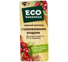 Шок. Эко-ботаника с вишней и черникой 90г*20шт.