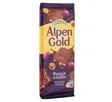 Альпен Голд 90г*20шт Изюм с орех.