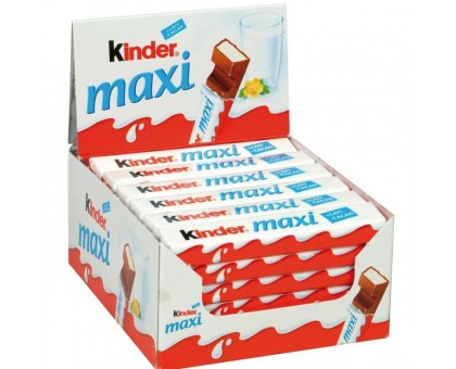 Киндер Шоколад Макси 21гр*36шт.