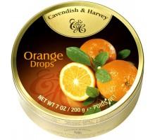 Леденцы  200г*9шт.  Апельсин Ж/Б Германия