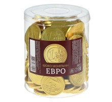Шок.монеты Евро 6г*50шт.МД
